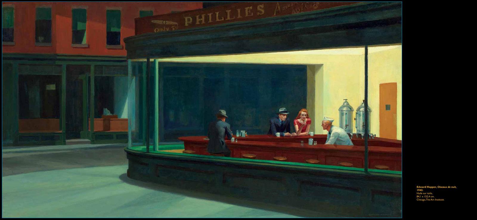 Tout Edward Hopper en une œuvre