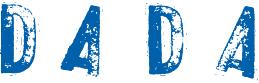 Logo DADA bleu et blanc