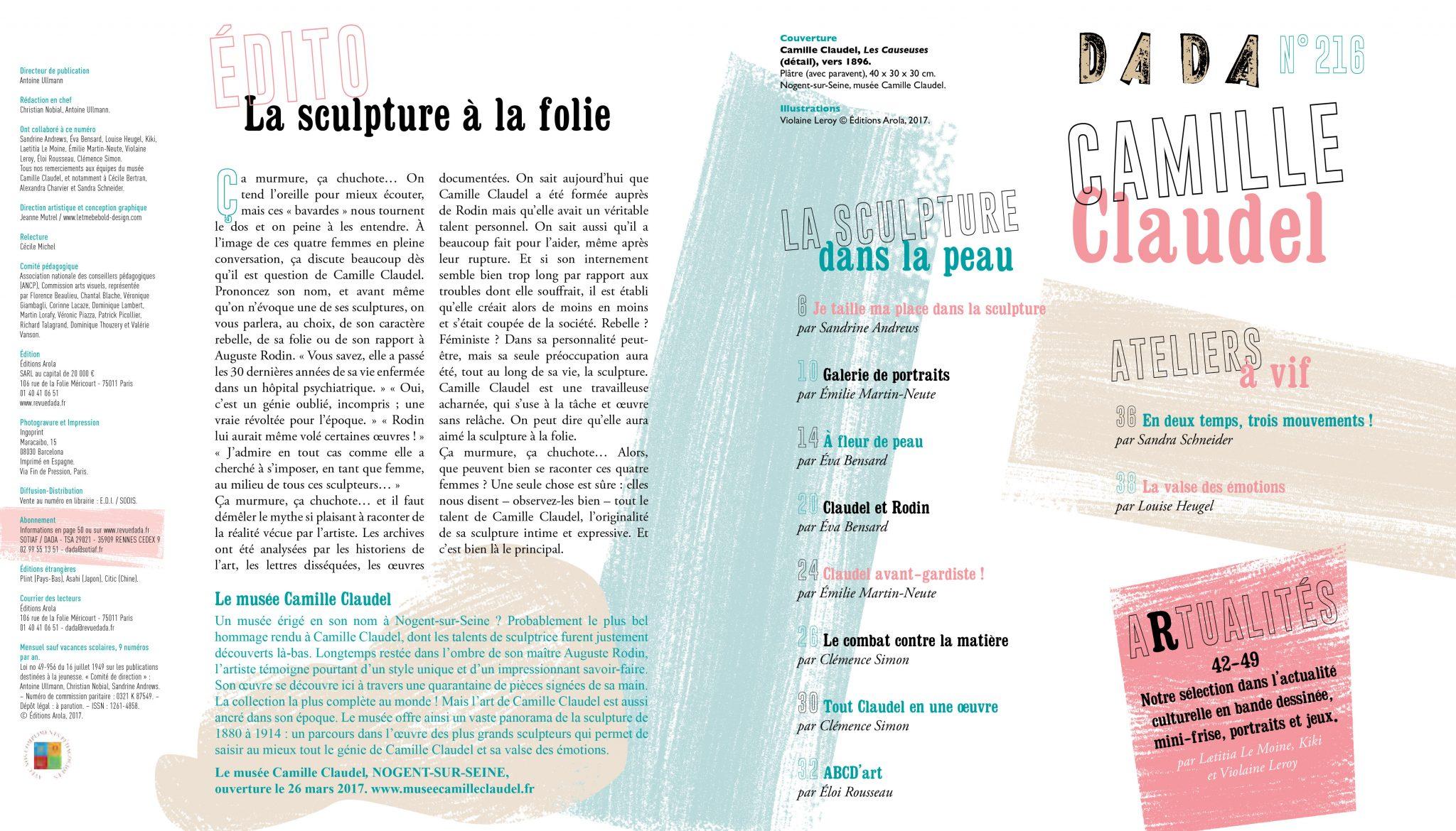 extrait en ligne Camille Claudel