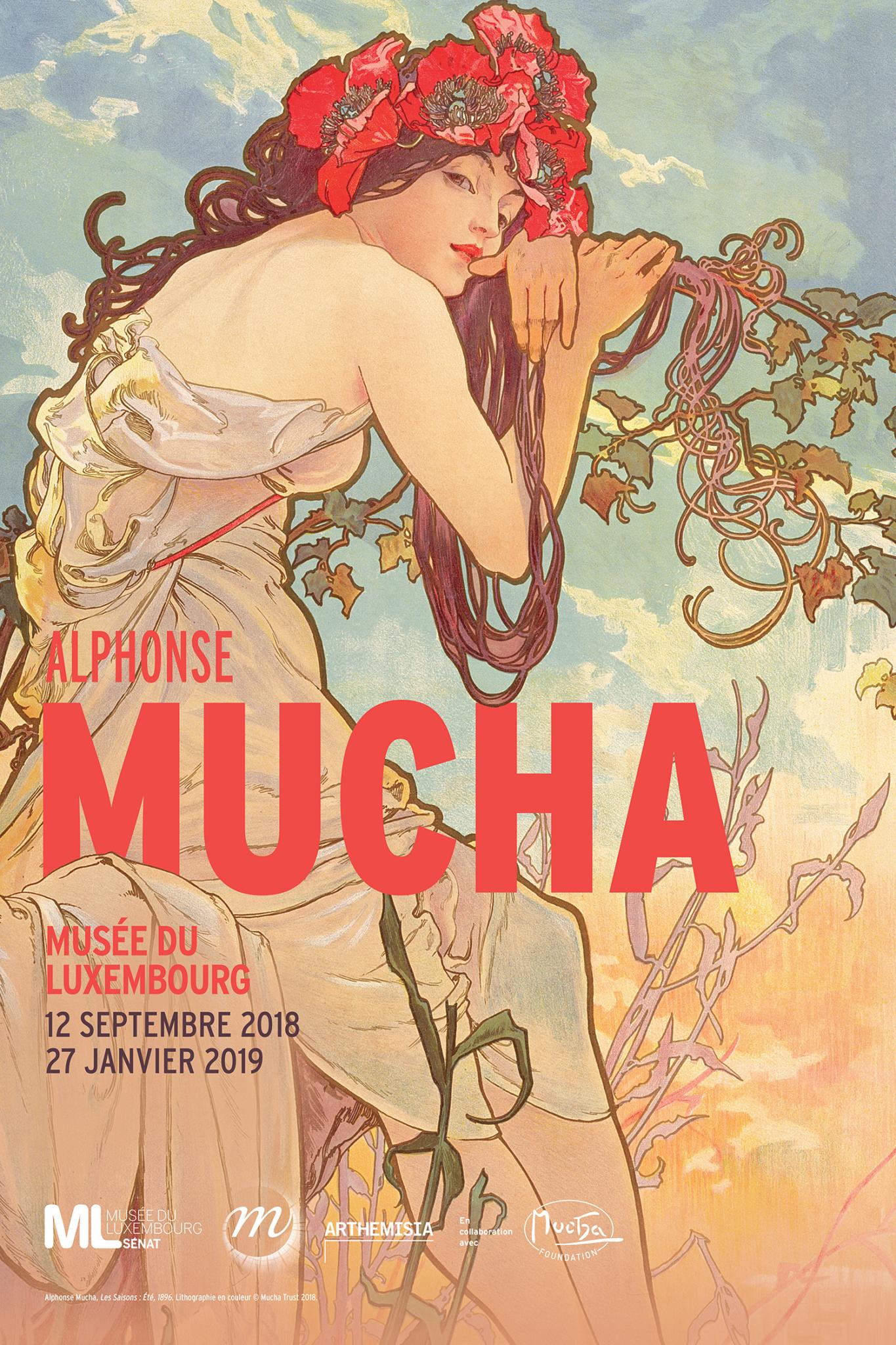 Alphonse Mucha au musée du Luxembourg !
