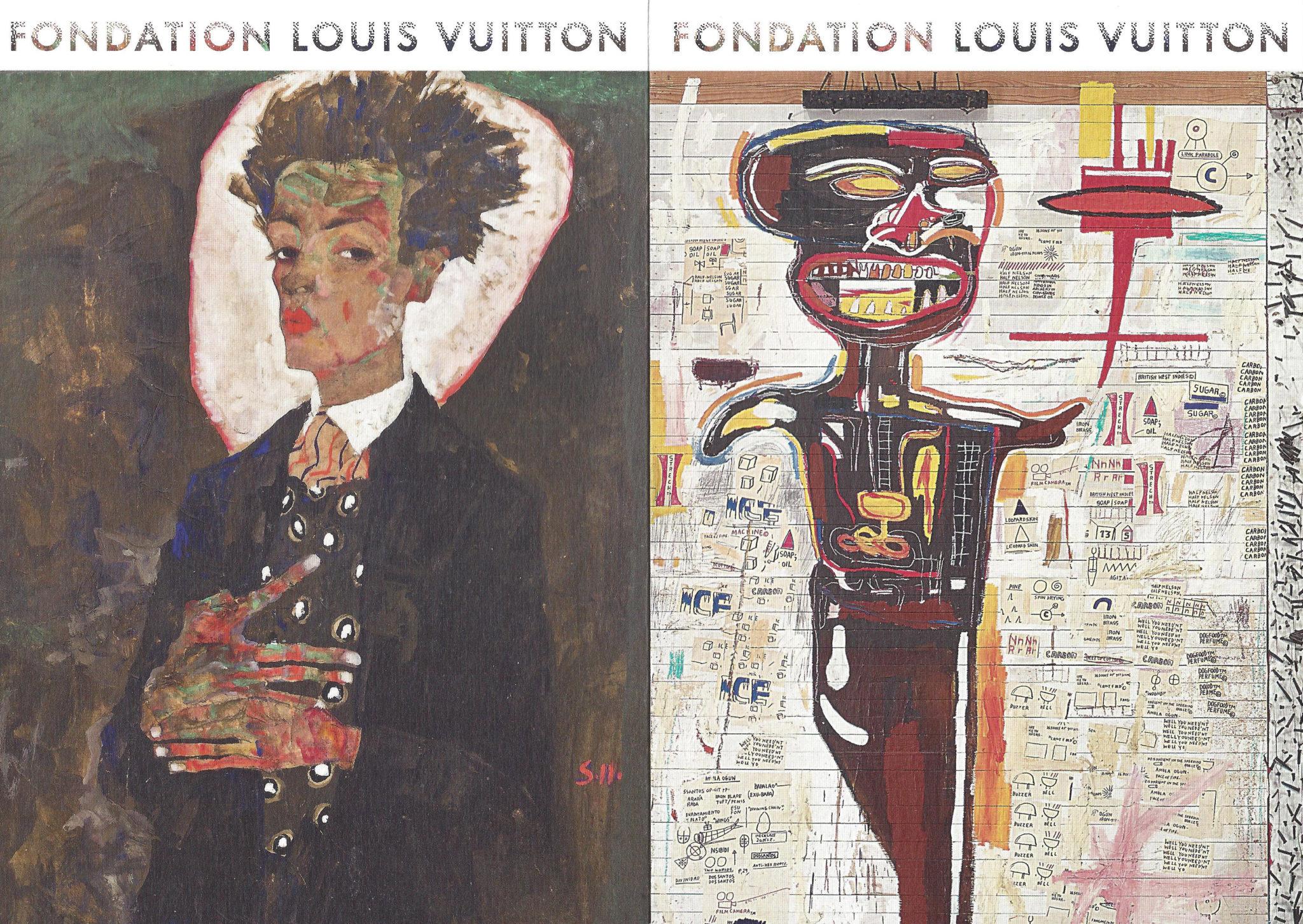 Basquiat et Schiele à la Fondation Louis Vuitton