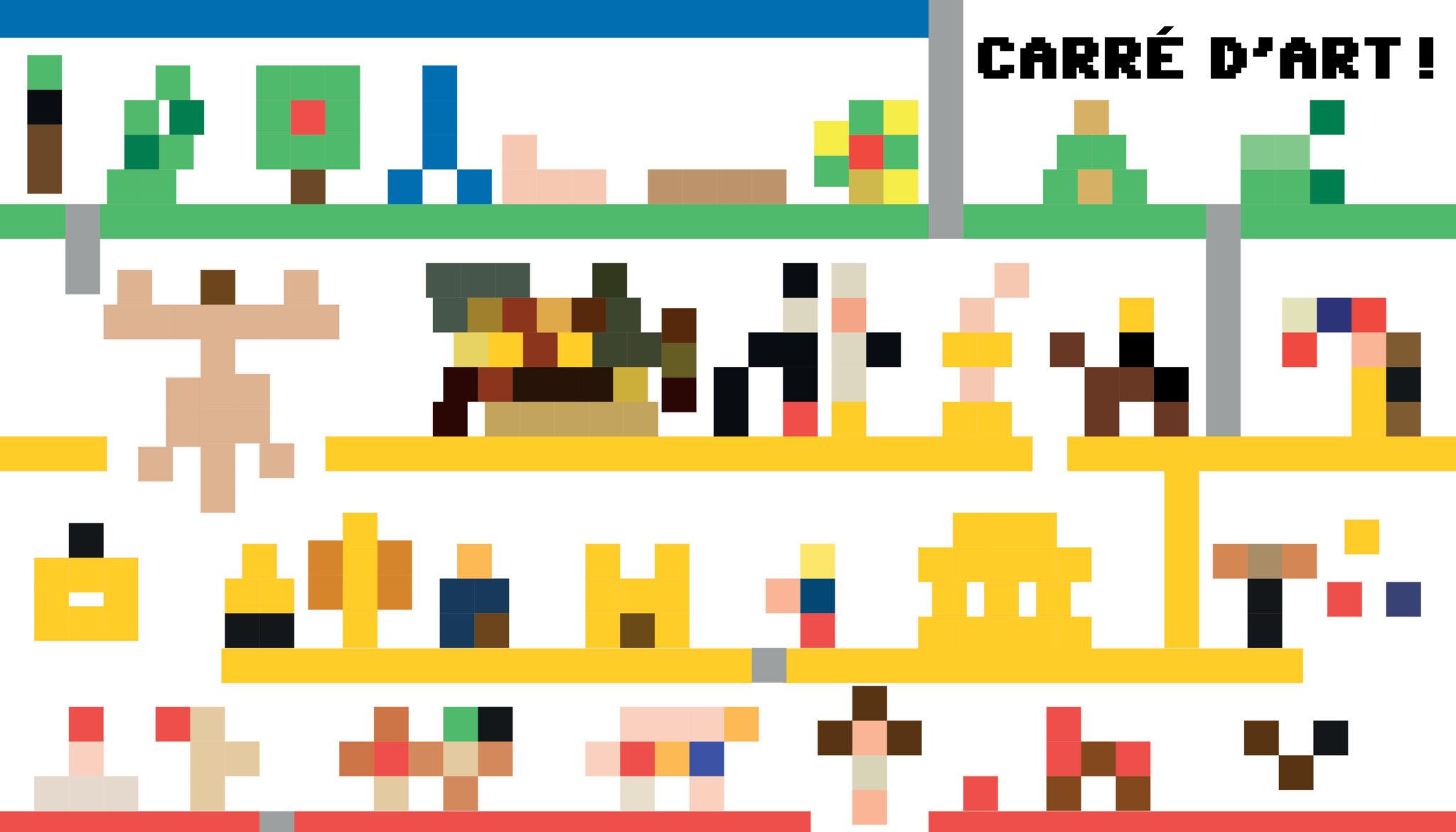 Pixel Art Dada