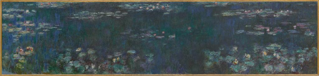 Claude Monet, Les Nymphéas : Reflets verts