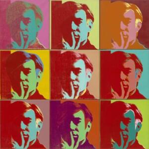 Autoportrait de Andy Warhol, 1966