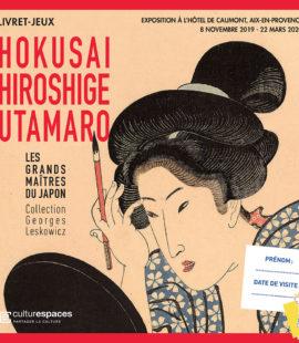 livret jeu expo Hokusai
