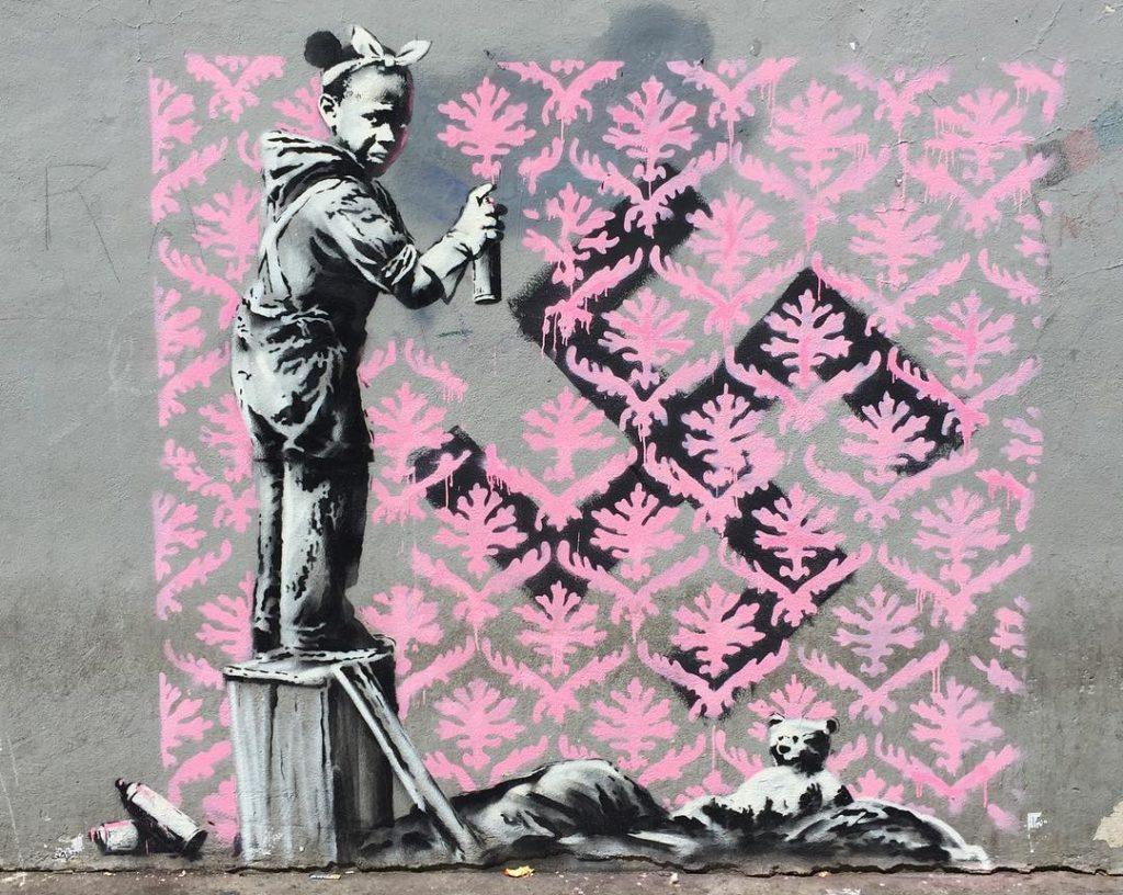 Banksy Porte de la Chapelle Paris