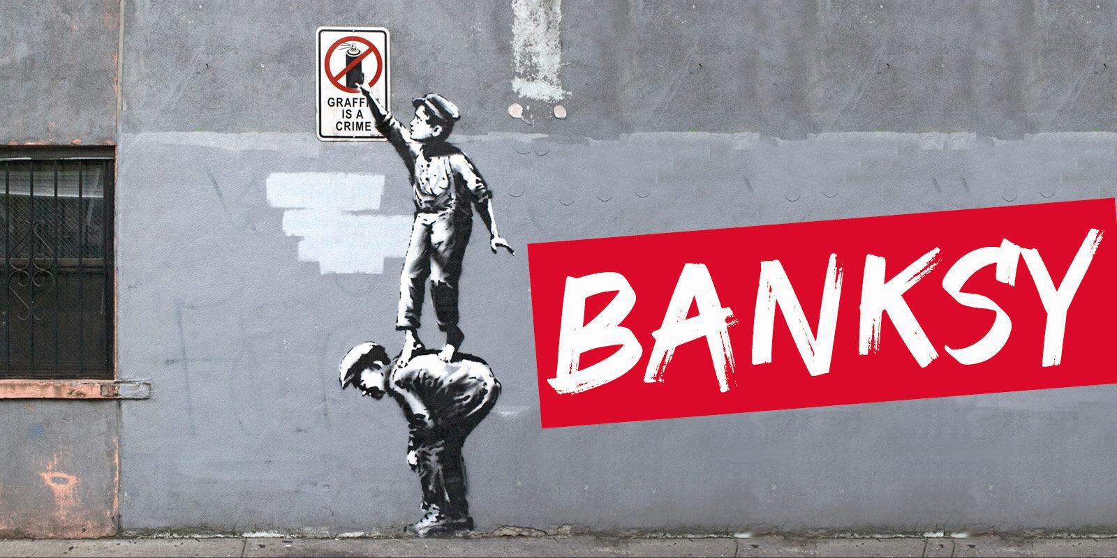 header banksy