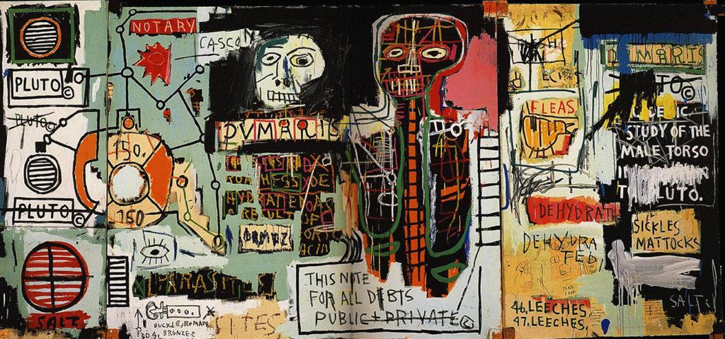 Notary de Jean-Michel Basquiat