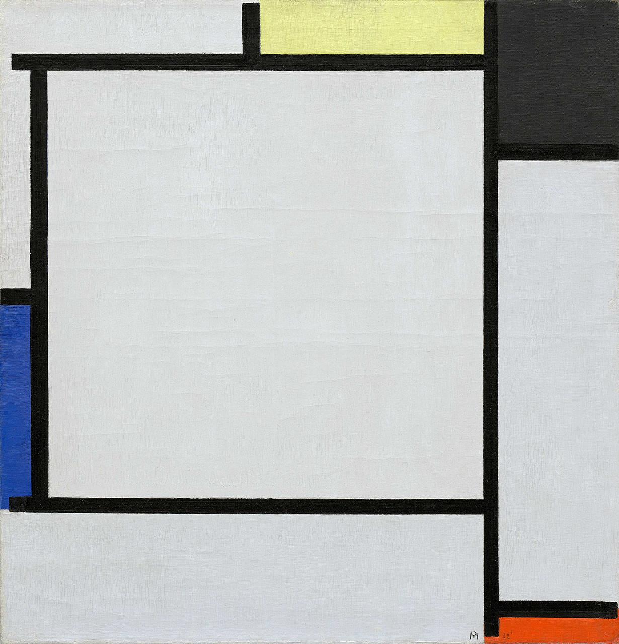 Tout Piet Mondrian en une oeuvre