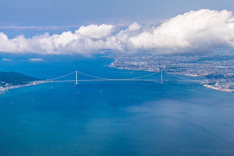 Pont du détroit d'Akashi, Japon