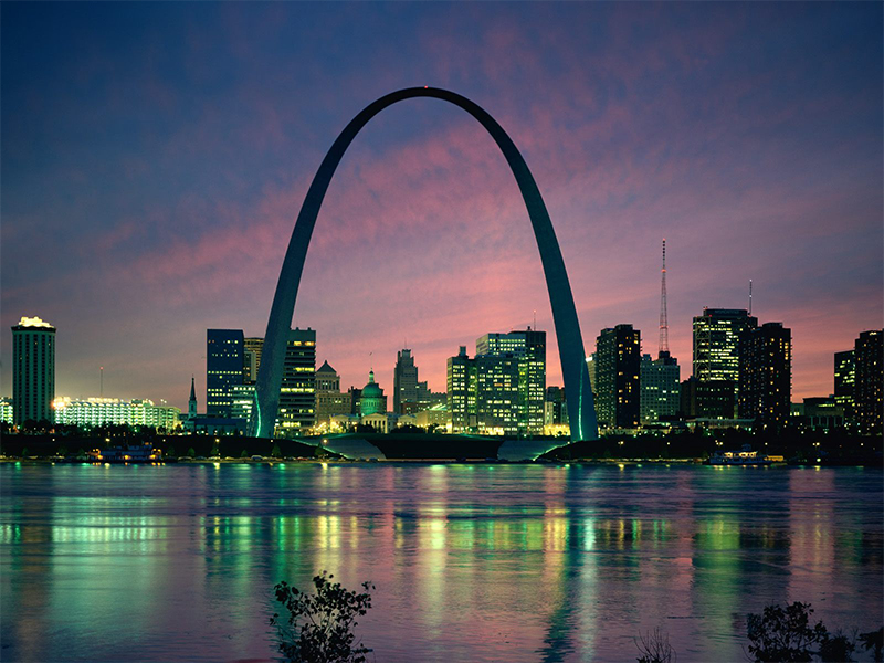 Gateway Arch, Saint-Louis, Missouri (États-Unis)