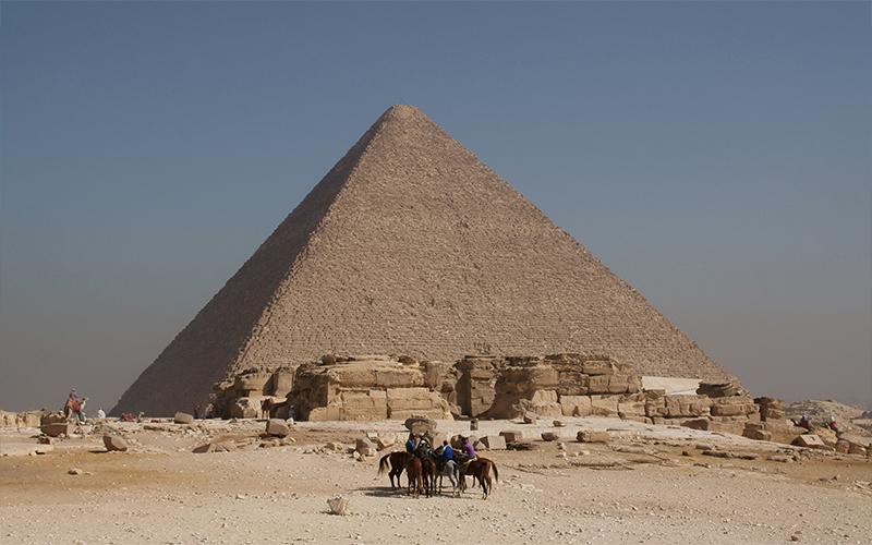 Pyramide de Khéops, Égypte