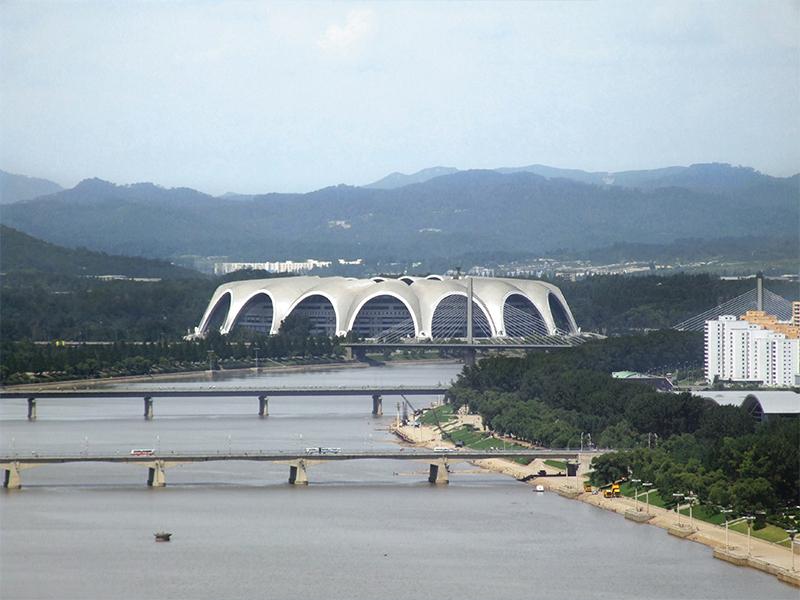 Stade du Premier-Mai, Pyongyang, Corée du Nord