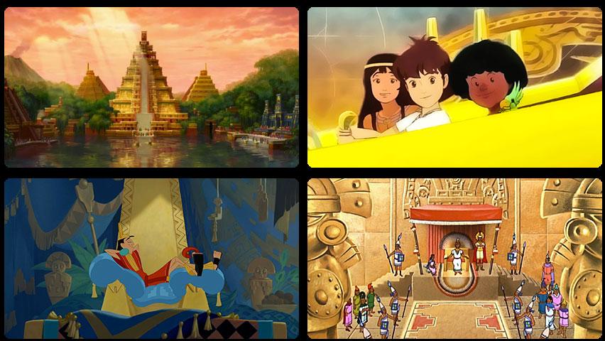 5 dessins animés inspirés des cultures précolombiennes