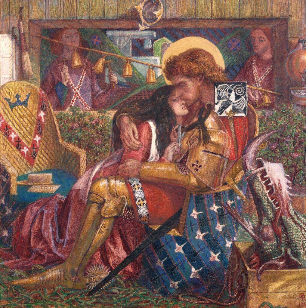 rouge et rose Dante Gabriel Rossetti, The Wedding